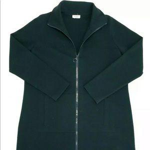 Akris Punto Sweater Jacket Wool Zip Up Long Sleeve
